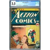 Action Comics #24 CGC 3.5 (SB) *2073127007*