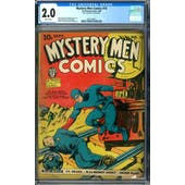 Mystery Comics #14 CGC 2.0 (B) *2073128011*