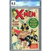 X-Men #3 CGC 4.5 (OW-W) *2073128014*