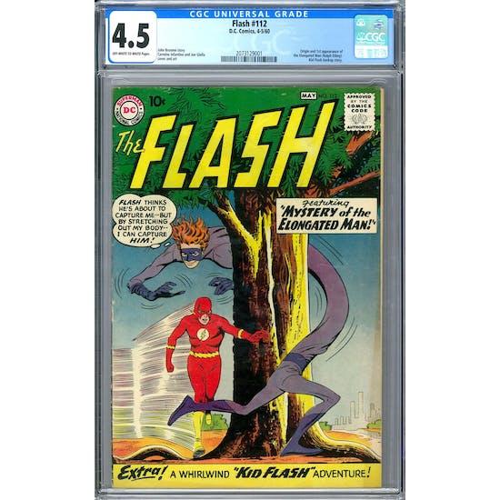 Flash #112 CGC 4.5 (OW-W) *2073129001*