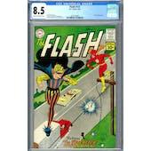 Flash #121 CGC 8.5 (C-OW) *2073129002*