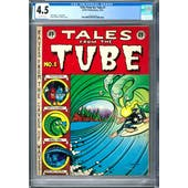 Tales from the Tube #1 CGC 4.5 (OW) *2073129005*