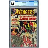 Avengers #5 CGC 6.5 (W) *2073129012*