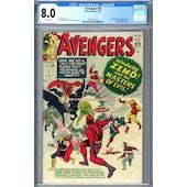 Avengers #6 CGC 8.0 (W) *2073129013*
