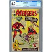 Avengers #2 CGC 4.0 (OW-W) *2073129015*