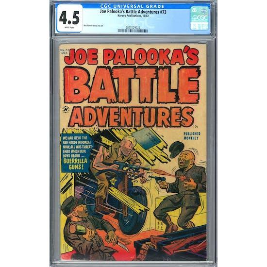 Joe Palooka's Battle Adventures #73 CGC 4.5 (W) *2073129024*