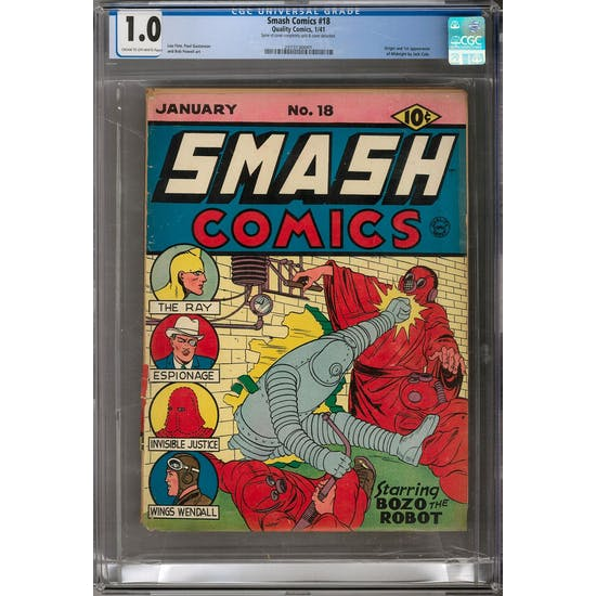 Smash Comics #18 CGC 1.0 (C-OW) *2073130001*
