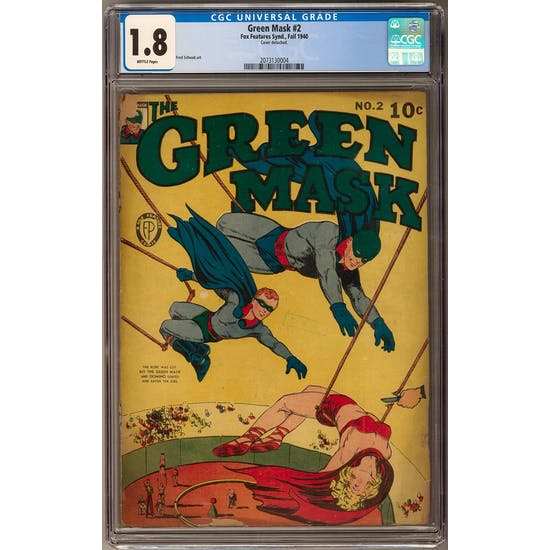 Green Mask #2 CGC 1.8 (B) *2073130004*