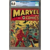 Marvel Mystery Comics #11 CGC 4.0 (SB) *2073130005*