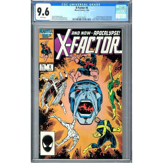 X-Factor #6 CGC 9.6 (W) *2073131003*