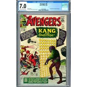 Avengers #8 CGC 7.0 (OW-W) *2073132005*
