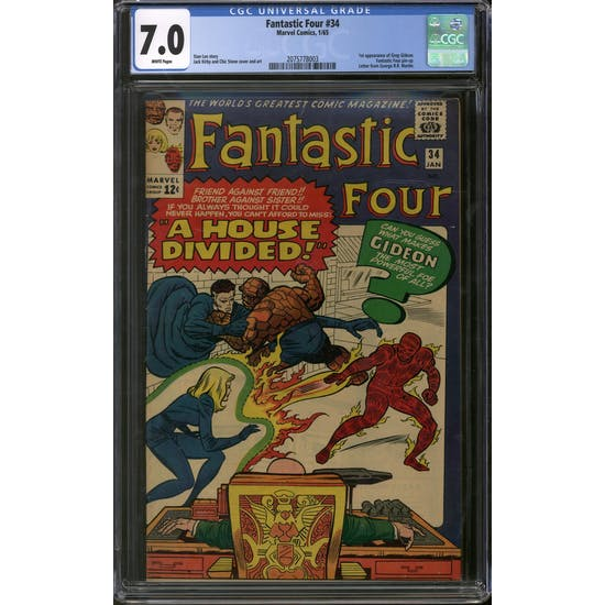 Fantastic Four #34 CGC 7.0 (W) *2075778003*