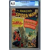 Amazing Spider-Man #18 CGC 4.5 (OW) *2076306002*