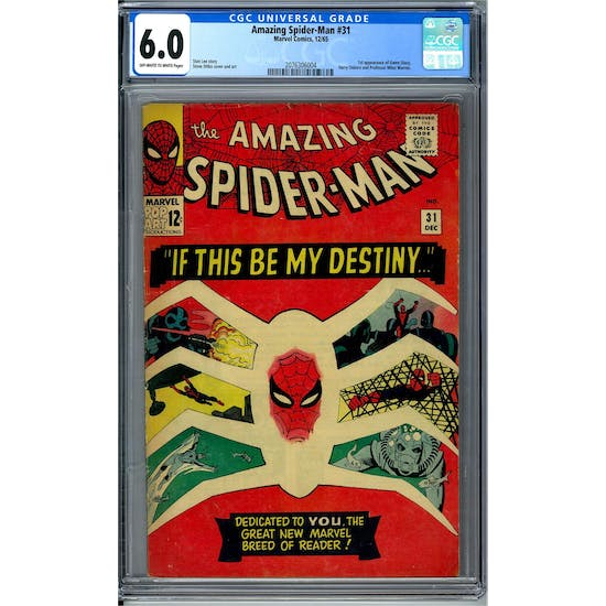 Amazing Spider-Man #31 CGC 6.0 (OW-W) *2076306004*