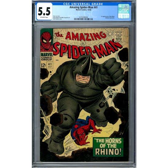 Amazing Spider-Man #41 CGC 5.5 (OW) *2076306006*