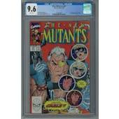 New Mutants #87 CGC 9.6 (W) *2078668005*