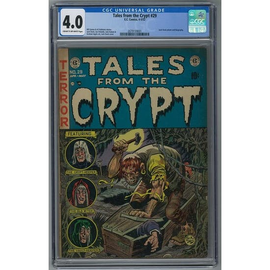 Tales from the Crypt #29 CGC 4.0 (C-OW) *2079159001*