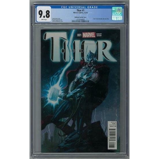 Thor #1 CGC 9.8 (W) Robinson Variant Cover *2079160004*