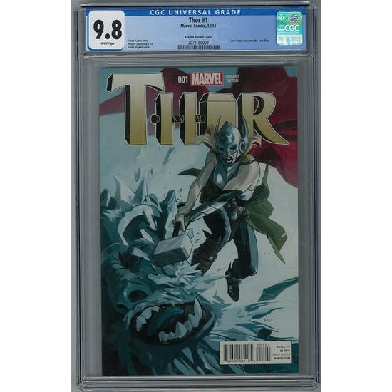Thor #1 CGC 9.8 (W) Staples Variant Cover *2079160009*