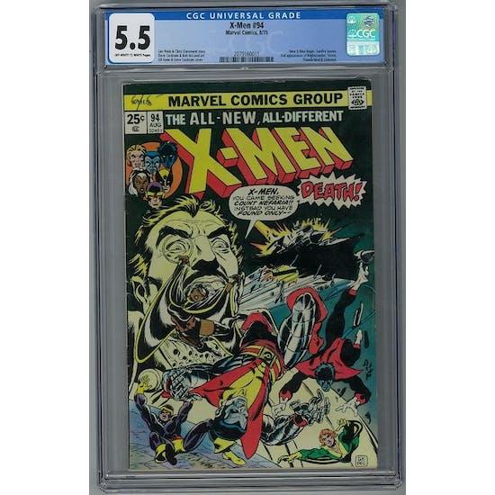 X-Men #94 CGC 5.5 (OW-W) *2079160011*