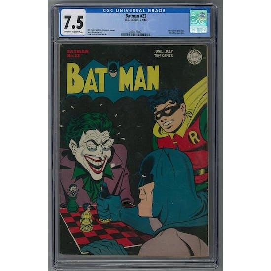 Batman #23 CGC 7.5 (OW-W) *2080178001*