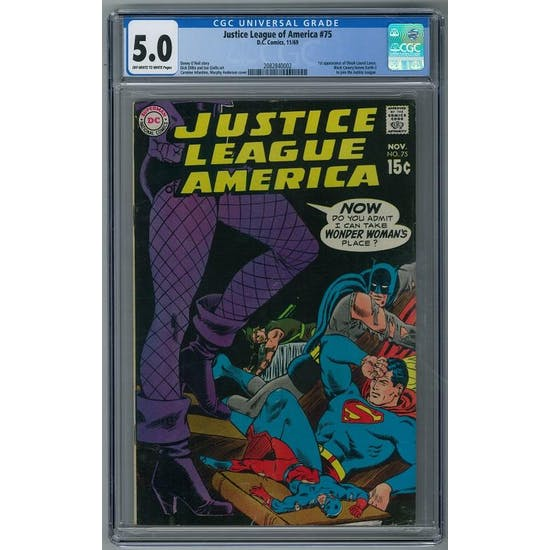 Justice League of America #75 CGC 5.0 (OW-W) *2082840002*