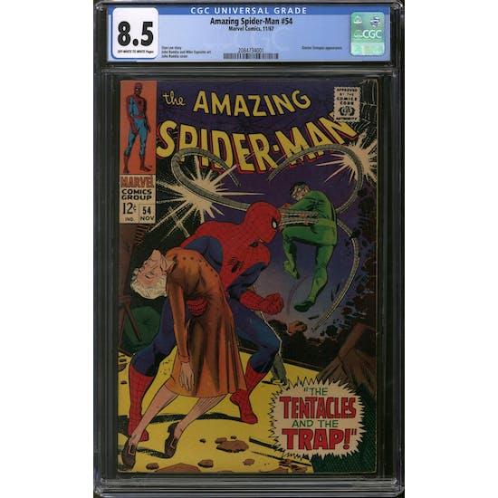 Amazing Spider-Man #54 CGC 8.5 (OW-W) *2084734001*