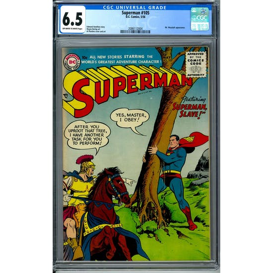 Superman #105 CGC 6.5 (OW-W) *2086112004*