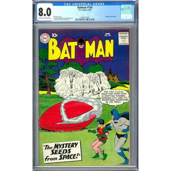 Batman #124 CGC 8.0 (OW-W) *2086117020*