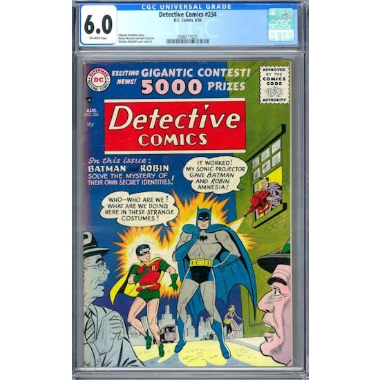 Detective Comics #234 CGC 6.0 (OW) *2086117021*