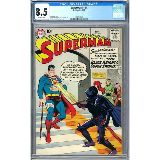 Superman #124 CGC 8.5 (OW) *2086118006*