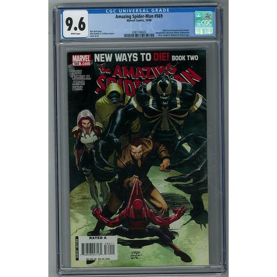 Amazing Spider-Man #569 CGC 9.6 (W) *2087106003*