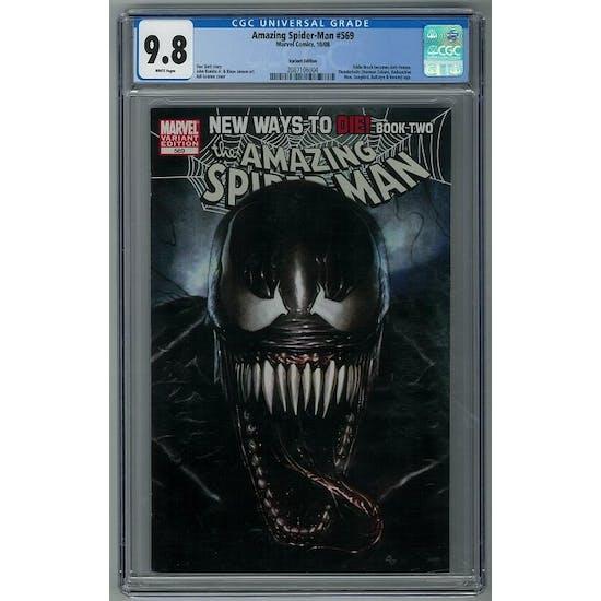 Amazing Spider-Man #569 CGC 9.8 (W) Adi Granov Variant *2087106004*