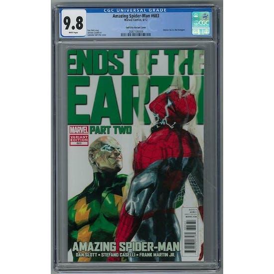 Amazing Spider-Man #683 CGC 9.8 (W) Gabriele Dell'Otto Variant *2087106009*