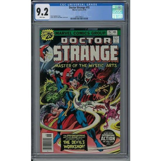 Doctor Strange #15 CGC 9.2 (W) *2087724012*