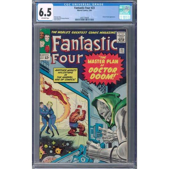 Fantastic Four #23 CGC 6.5 (OW) *2087734009* Fantastic2020Series - (Hit Parade Inventory)