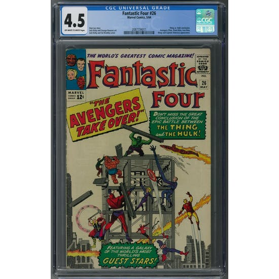 Fantastic Four #26 CGC 4.5 (OW-W) *2087734011*