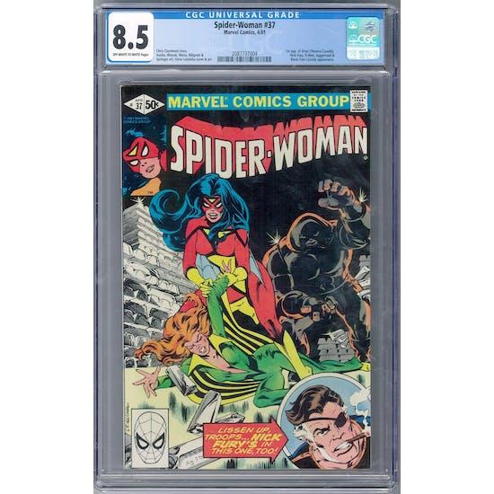 Spider-Woman #37 CGC 8.5 (OW-W) *2087737004*