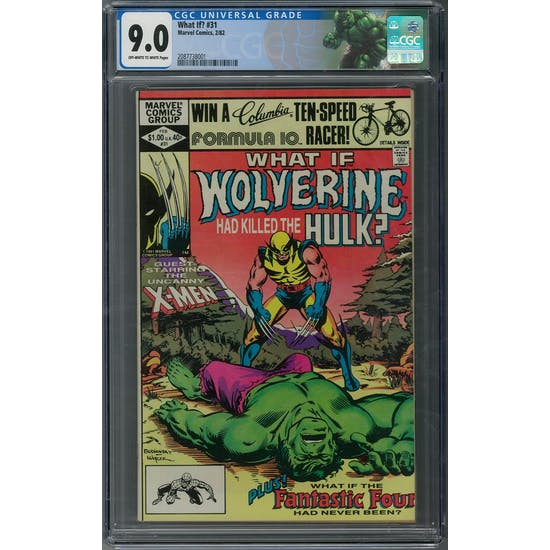 What If? #31 CGC 9.0 (OW-W) *2087738001*