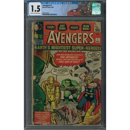 Avengers #1 CGC 1.5 (C-OW) *2087740001*