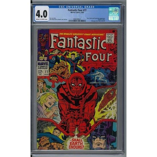 Fantastic Four #77 CGC 4.0 (C-OW) *2088366021*
