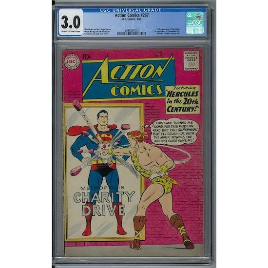 Action Comics #267 CGC 3.0 (OW-W) *2088367013*