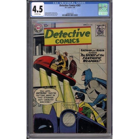 Detective Comics #263 CGC 4.5 (OW) *2088367024*