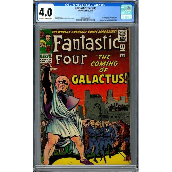 Fantastic Four #48 CGC 4.0 (OW-W) *2088508001*