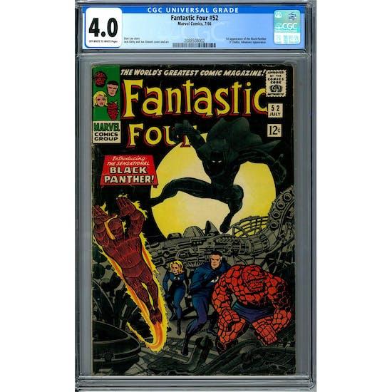 Fantastic Four #52 CGC 4.0 (OW-W) *2088508002*