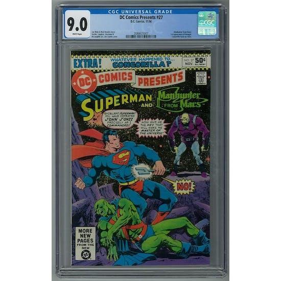 DC Comics Presents #27 CGC 9.0 (W) *2088625007*