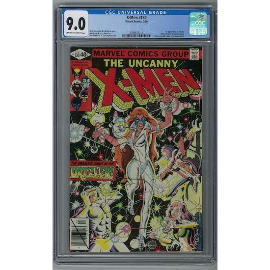 X-Men #130 CGC 9.0 (OW-W) *2088625016*