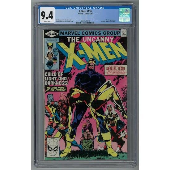 X-Men #136 CGC 9.4 (W) *2088625018*