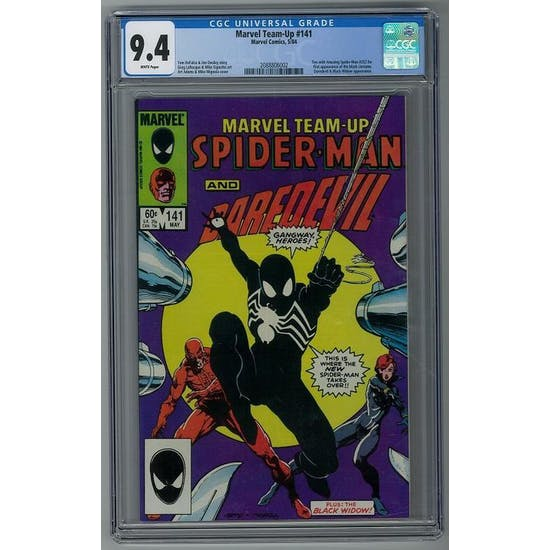 Marvel Team-Up #141 CGC 9.4 (W) *2088806002*