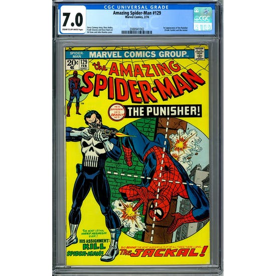 Amazing Spider-Man #129 CGC 7.0 (C-OW) *2088941002*